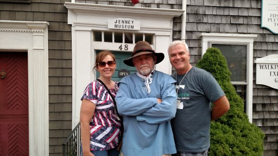 Leo, An excellent Tour Guide at Jenney Museum!