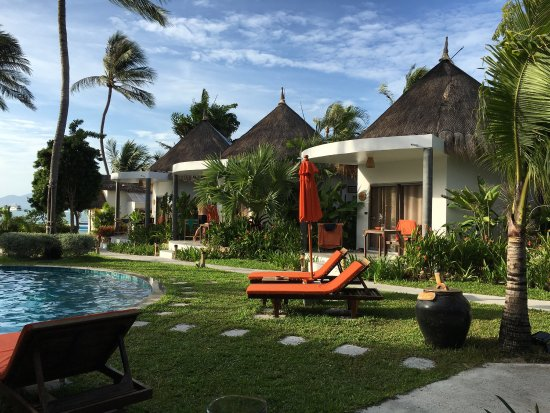Secret Garden Beach Resort: Secret Garden is a wonderful resort! We are returning guests, again and again! The servise is ex