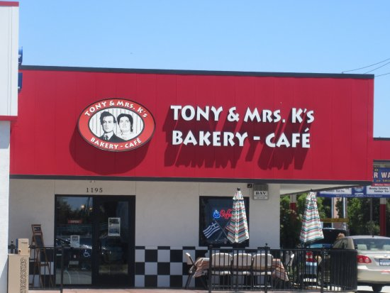 แมนเทกา, แคลิฟอร์เนีย: Tony & Mrs. K's Bakey- Cafe, Manteca, CA