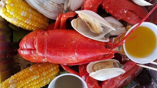 West Dennis, MA: Lobster meal