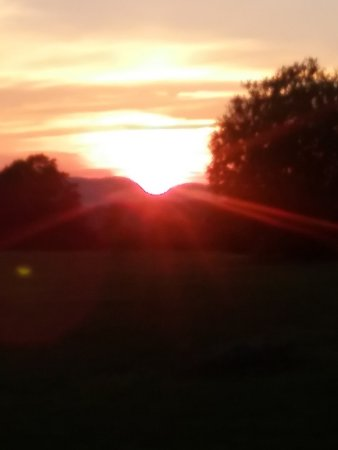 Sugar Hill, NH: Sunset