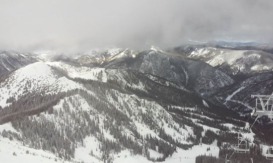 Taos Ski Valley, NM: View from top of Kachina