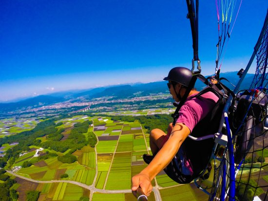 Wing Beat Motor Paraglider School