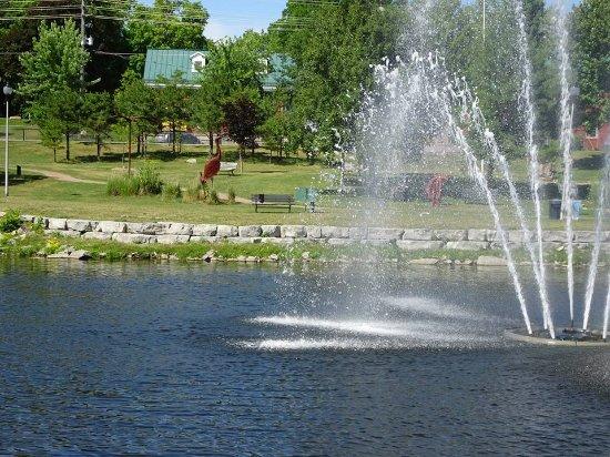Gananoque, Canadá: Sculpture park