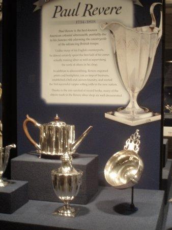 dewitt wallace decorative arts museum paul revere silversmith exhibit - Dewitt Wallace Decorative Arts Museum