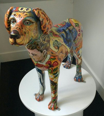The Art Museum of Greater Lafayette: The guard dog :)