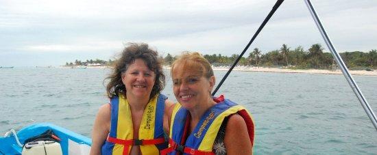 Tulum Underwater: Camino a hacer snorkel en los arrecifes de las costas de Tulum