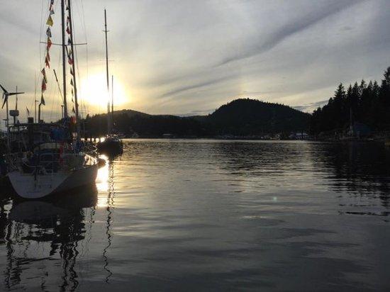 Garden Bay, Canadá: Sunset