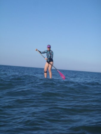 Maria Souza's Stand Up Paddle School : I'm SUP'ping!