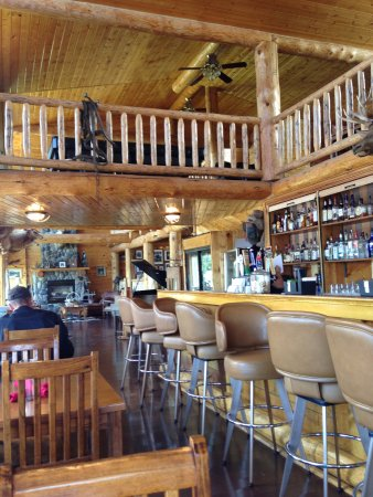 Island Park, ID: Dining Room and Bar