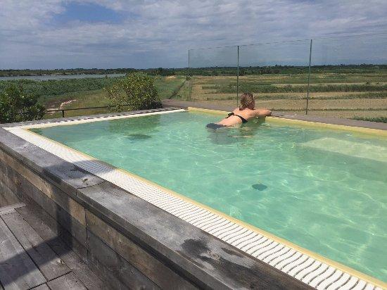 kleiner aber erfrischender pool auf der dachterrasse bild von boutique hotel oche selvatiche. Black Bedroom Furniture Sets. Home Design Ideas