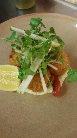 Александра-Хедланд, Австралия: Noosa spanner crab croquettes