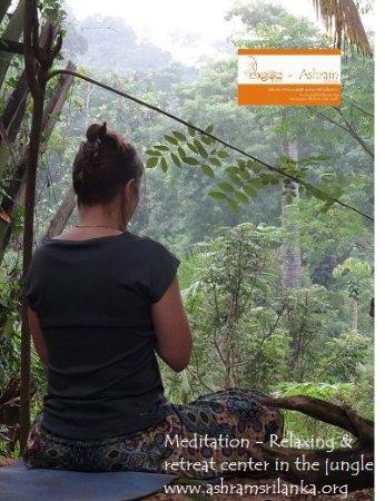 Tangalle, Sri Lanka: Yoga & meditation time