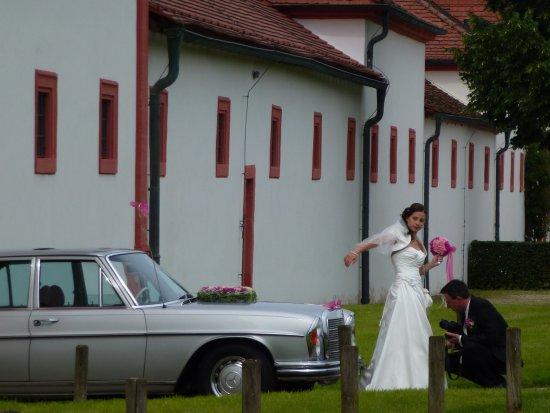 Memmelsdorf, Alemania: Also a location liked by just married couples.