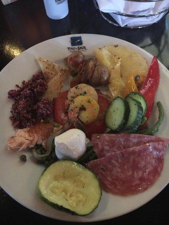 Texas de Brazil: Tried to eat it all!!!