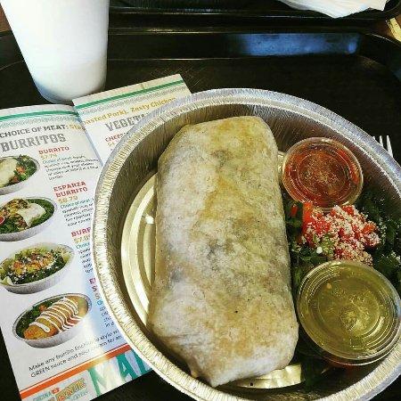 Ridgecrest, CA: Esparza Burrito. . It's HUGE!