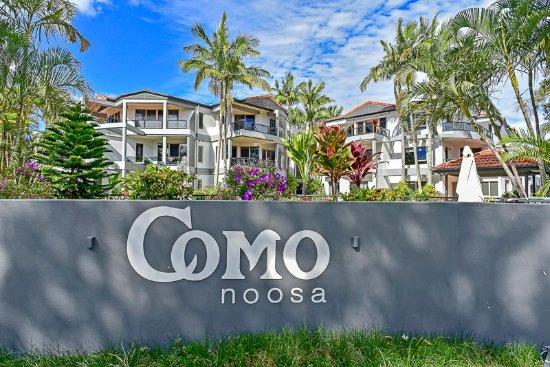 Exterior of Como Noosa