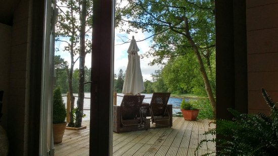 Gilpin Hotel & Lake House: At the boat house after a spa treatment