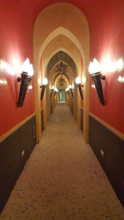 Terme Manzi Hotel & Spa: Ingresso della spa