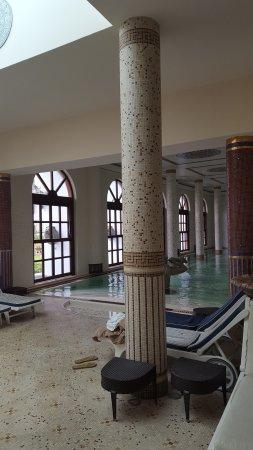 Terme Manzi Hotel & Spa: Scorcio della piscina termale