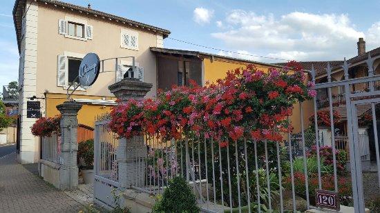 Chatillon-sur-Chalaronne, France : Notre terrasse