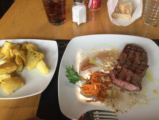 Osteria Pepo: Beef with Potatoes