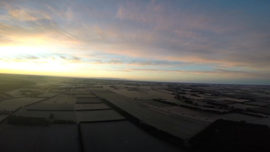 Darfield, New Zealand: This is the view from the balloon
