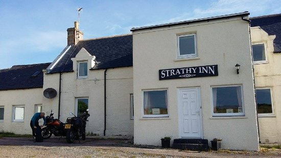 Strathy, UK: Refreshed and preparing to leave headed South