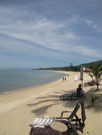 Sand Sea Resort & Spa: Strand direkt vor dem Hotelgelände