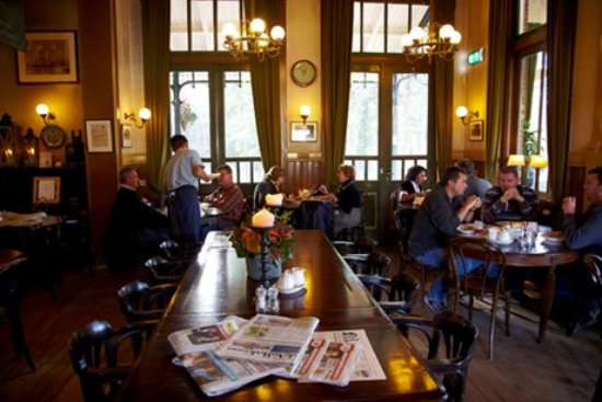 Baarn, Hollanda: Binnen interieur