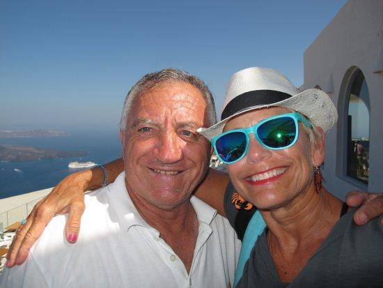 โรงแรมมาตินา: My buddy & friend, Mr. Vangelis Sigalas (owner Hotel Matina)