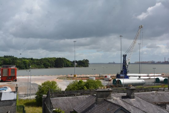 Foynes, Ιρλανδία: The jetty and water landing strip for the flying boat