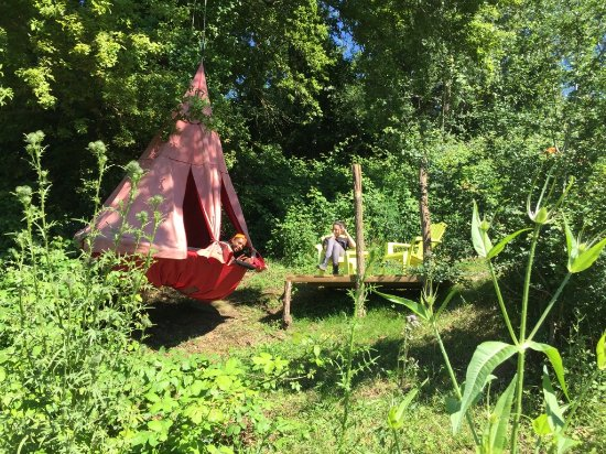Pont-du-Casse, Frankrijk: Tente suspendue