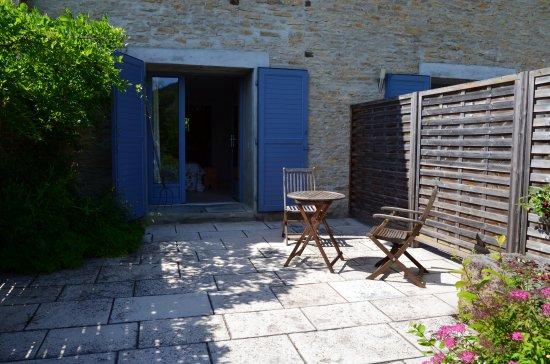 Kleine Terrasse kleine terrasse picture of les grands pres geney tripadvisor