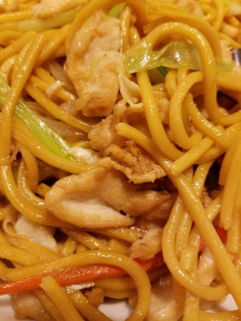 Williston, Dakota du Nord : Chicken lo mein