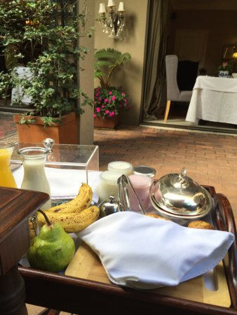 The Residence Boutique Hotel: Breakfast spread