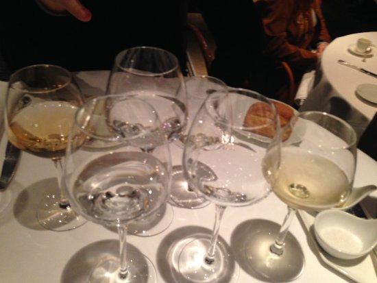 Le Jardin des Sens: some wines