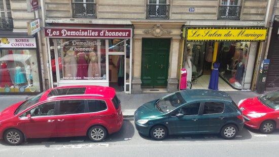 Avalon Hotel Paris: Vista desde habitación 12