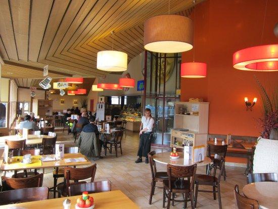 Ittigen, Schweiz: Restaurant Innenansicht