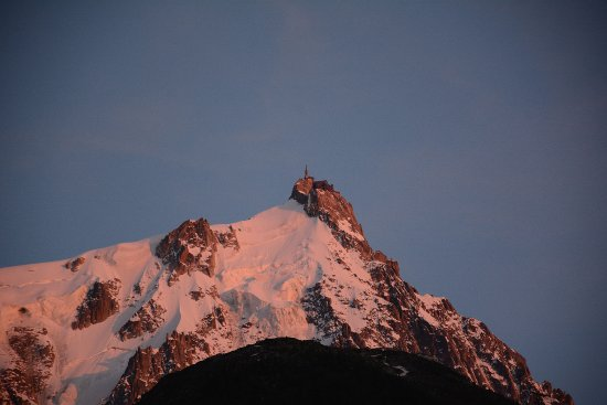 View From The Balcony Picture Of Fleur Des Neiges Chamonix