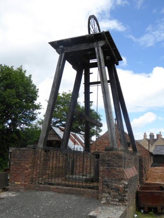 Ironbridge, UK: Original mine shaft