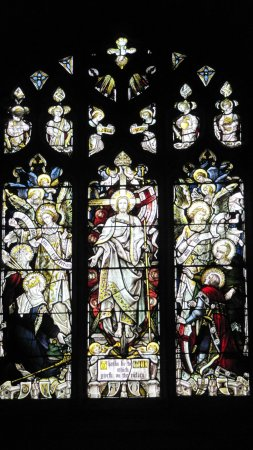 All Saints Church: Another example of the stained glass