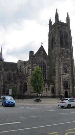 All Saints Church: Exterior view of the Church