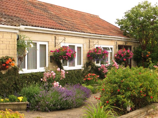 Timsbury, UK: Side view of the Garden Room