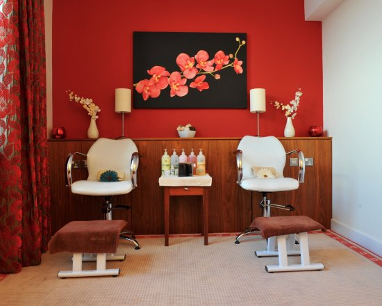 La Vie spa: pedicure station