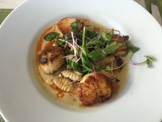 scallops at mariposa