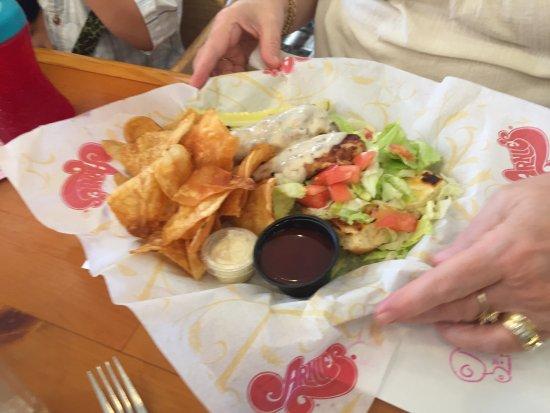 Rockford, MI: Chicken sandwich