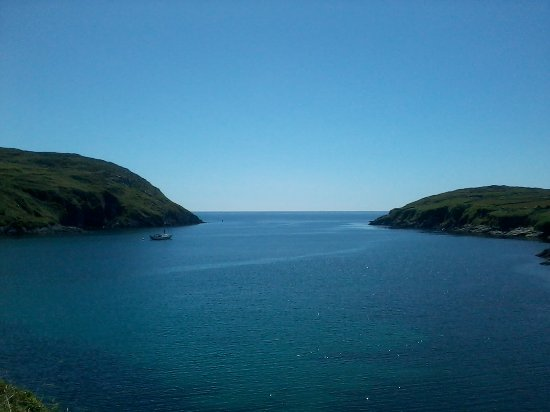 Cape Clear Campsite: South harbour
