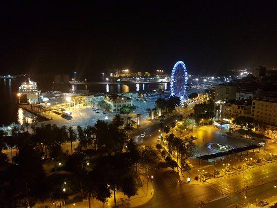 Vistas Desde La Terraza Picture Of Ac Hotel Malaga Palacio