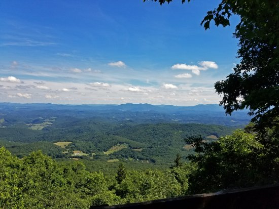 Mouth of Wilson, VA: Grayson Highlands State Park overlook